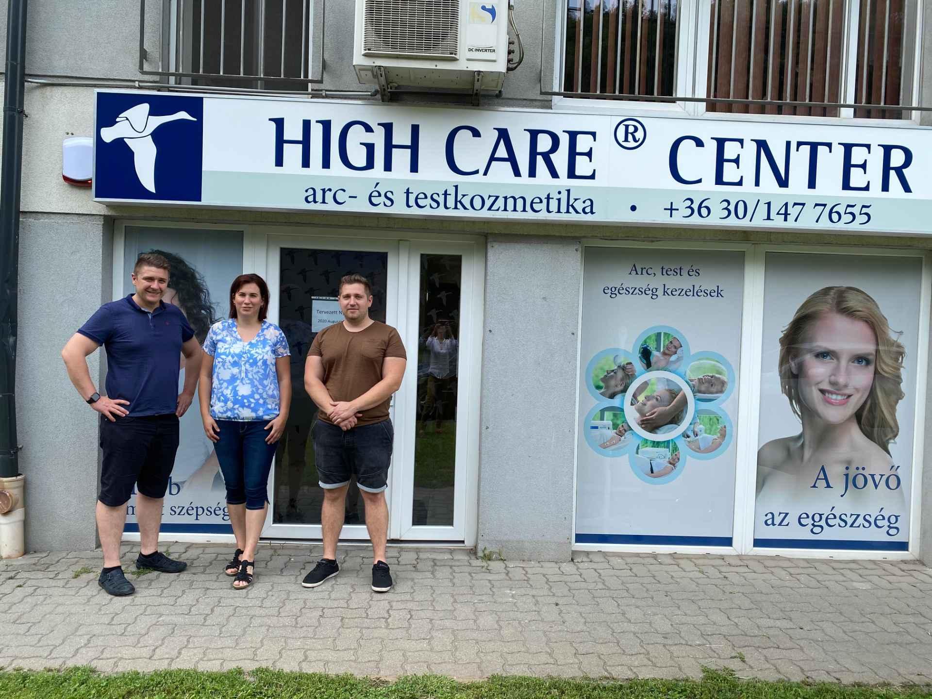 Csapatmunkából, lelkesedésből csillagos ötös ! – High Care® Center Nyíregyháza